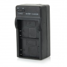 Universal Dual Batteries Charger for SJ4000 - Black (US Plug)