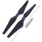 9450 3K Carbon Fiber Propeller Set CW/CCW Self-Locking for Quad / Six-axis / Multi-rotor - Black