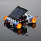 DIY Educational Assembled Solar-Powered Car Vehicle Toy for Children / Kids - Blue + Multicolor