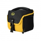 DSTE Nylon Camera Shoulder Bag for Fuji X-A1 M1 / Olympus E-M1 M10 / Pentax Q10 K01 - Yellow + Black