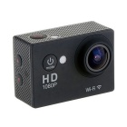 EOSCN HD1080P W7 Waterproof 12MP Sports Camera w/ 2.0 LCD - Black