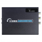 Aoluguya AL01 1080P HDMI to Composite / S-Video Converter w/ US Plug - Black