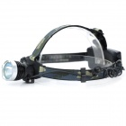 Outdoor 1000lm 3-Mode Cool White Light LED Headlamp - Black (2*18650)