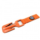 EZDIVE KF-SZ Linie Cutter Messer für Scuba Diving - Orange + Schwarz