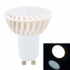 OMS-03 GU10 3W 210lm 3500K 15-SMD 2835 LED Warm White Spotlight Bulb - Ivory White (85~265V)
