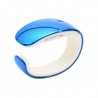 Y02 Fashionable Smart Bracelet w/ Synchronize Phone Book / Music Player / Pedometer / Call - Blue