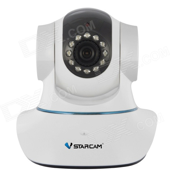 "VStarcam C7835WIP 1/4"" CMOS 1.0MP P2P IP-camera met 12-IR-LED / Wi-Fi / IR-CUT / TF / WPS (US Plugs)"