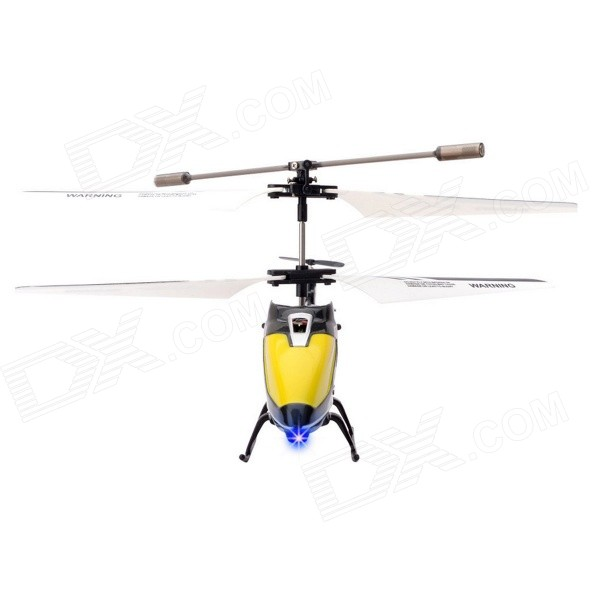 Kinrener 3.5-Channel 2.4GHz Shatter-proof LED Light Mini R/C Helicopter Kit w/ Gyro - White