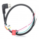 Micro Interface AV Output Cable for GoPro SJ5000 / 6000 - Black