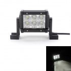 MZ 18W 1530LM 6000K LED Flood Beam Worklight Bar Off-road Lamp 4WD UTV Driving Light w/ Lens
