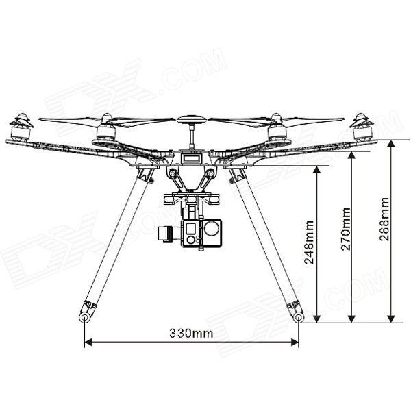 s fpv hexacopter frame kit w pcb center plate intergrated s550 fpv hexacopter frame kit w pcb center plate intergrated circuit black