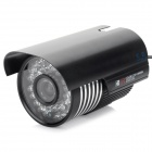 "SEEHOO SE-TR5081 700-Line 1/3"" CCD Wide Angle CCTV Camera w/ 36-IR-LED - Black"
