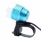 ZHISHUNJIA 810lm 6-Mode 1-LED White Light 3.7~8.4V USB Powered Bike Headlamp - Blue + Silver