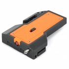 Car Safety Buckle w/ Emergency / Survival Hammer / Belt Cutter Knife / LED Torch - Orange (1 x 2032)