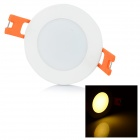 3W 250lm 3000K 3-LED Warm White Light Ceiling Lamp - White (AC 85~265V)