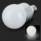 JR-LED E27 10W 700LM 6400K LED White Light Bulb - Белый + Silver (AC 85 ~ 265V)