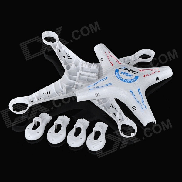 JJRC Replacement ABS Body Shell Housing for H5C / X5C R/C Quadcopters - White(SKU 368282)