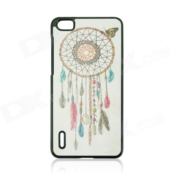 Dreamcatcher Pattern Protective PC Back Case for HUAWEI Honor 6 - White + Black + Multi-Color honor 6 case premium slim pc matte hard case for huawei honor 6