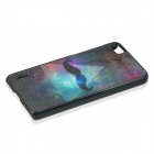 Starry Sky & Beard Pattern Protective PC Back Case for HUAWEI Honor 6 - Black + Deep Blue