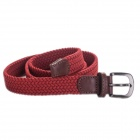 AceCamp 5105 Women's Outdoor Sports Elastic Spandex + Rubber Belt - Red (100cm)