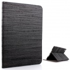 Mr.northjoe Beskyttende PU Leather + PC veske m / stativ + Auto Sleep for IPAD MINI 1/2/ 3 - Svart