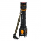 E-SMART Rechargeable 800lm 5-Mode Cold White Light Self-Defense Tactical Flashlight (1 x 18650)