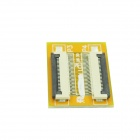 FFC 0.5mm Pitch 24pin Adapter Plate Docking Board - Yellow