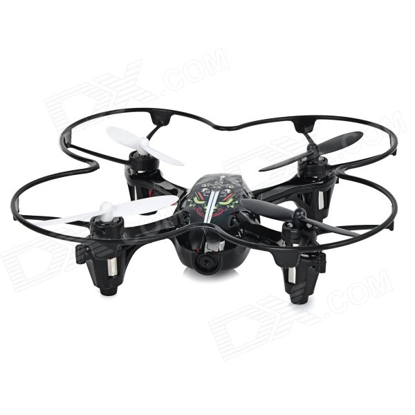 TEER 2.4GHz 4-Channel 6-Axis Gyro Hand-Launch R/C Quadcopter Aircraft Toy w/ 0.3MP Camera + 4 Lights