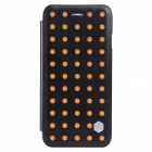 "NILLKIN POP Series Protective PU Leather Case for IPHONE 6 4.7"" - Black + Orange"