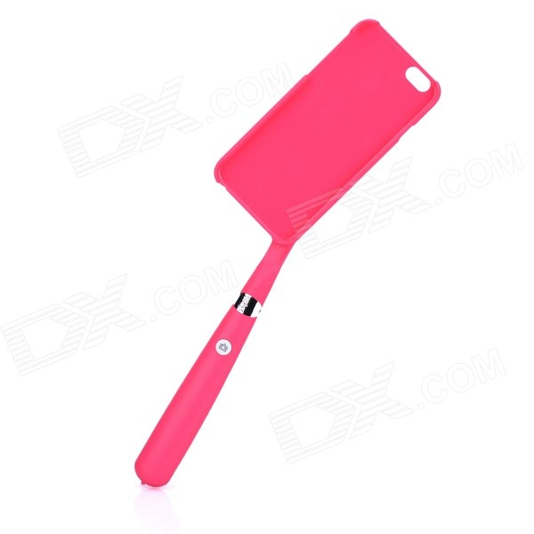 2-in-1 Handheld Self-Timer Monopod for IPHONE 6 - Deep Pink gocomma pair of mobile game fire button shooting trigger