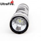 Ultrafire WF-502B 1-LED 900LM 3-Mode White Light Flashlight Set - Black (1 x 18650)