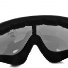 Outdoor Multi-Functional Sporty Goggles - Black + Translucent Grey