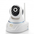 "ES-IP906W 1/4 ""CMOS 1.0MP Innen-IP-Kamera w / 11-IR-LED / Wi-Fi / TF - White + Black (EU-Stecker)"