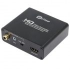 OTIME OT-0339 HDMI to DVI + Coaxial Converter w/ Audio Output - Black