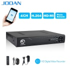JOOAN JA-3104-US 4CH Full D1 Real Time Recording CCTV DVR HDMI P2P Mobile Phone Monitoring