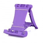 Multi-Function 4-Mode Adjustable Folding Stand for Phone, Tablet PC - Purple