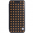 "NILLKIN POP Series Protective PU Leather Case for IPHONE 6 Plus 5.5"" - Black + Orange"