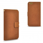 "2-in-1 Detachable Matte PU Leather Case w/ Card Slot for IPHONE 6 4.7"" - Brown"