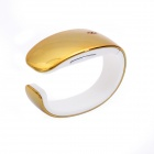 Y02 Fashionable Smart Bracelet w/ Synchronize Phone Book / Music Player / Pedometer / Call - Golden
