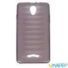 Uhappy  Protective TPU Back Case Cover for UP520 - Gray