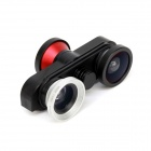4-in-1 Fisheye + Macro + Wide Angle Lens + Front 180 Degree Fish Eye Camera for IPHONE 6