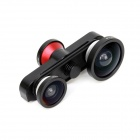 4-in-1 Fish Eye + Marco + 0.4X Wide Angle Lens +180 Degree Fish Eye Front Camera  for IPHONE 6