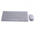 GLK-WMK01 2.4GHz Wireless 78-Key Keyboard + Optical Mouse Set - White
