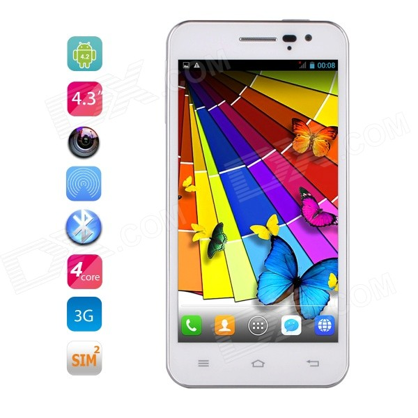 JIAYU G2FW MTK6582 Quad-Core Android 4.2 WCDMA Phone w/ 4.3 IPS, 4GB ROM, GPS, Wi-Fi - White new methods of source reconstruction for magnetoencephalography