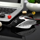 R.Horse FC-1591 6-Button USB 2.0 Wired Gaming Mouse m / RGB Light-Sort + Silver