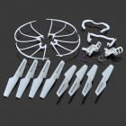 JJRC KH5C-001 Replacement Blade + Guard Circle + Undercarriage + Motor Support Set for JJRC / SYMA