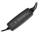 USB 2.0 Video & Audio Grabber - Black