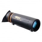 2015 New BIJIA Jazz 10x42 High-Powered HD Monocular Telescope w/ Eyeshade - Black