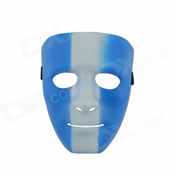 Argentine Style Face Mask - Blue + White human performance engineering легинсы