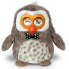 Hibou Owl Smart Interactive / Educational Electronic Toy w/ App for Android / iOS Devices (4 x AA)